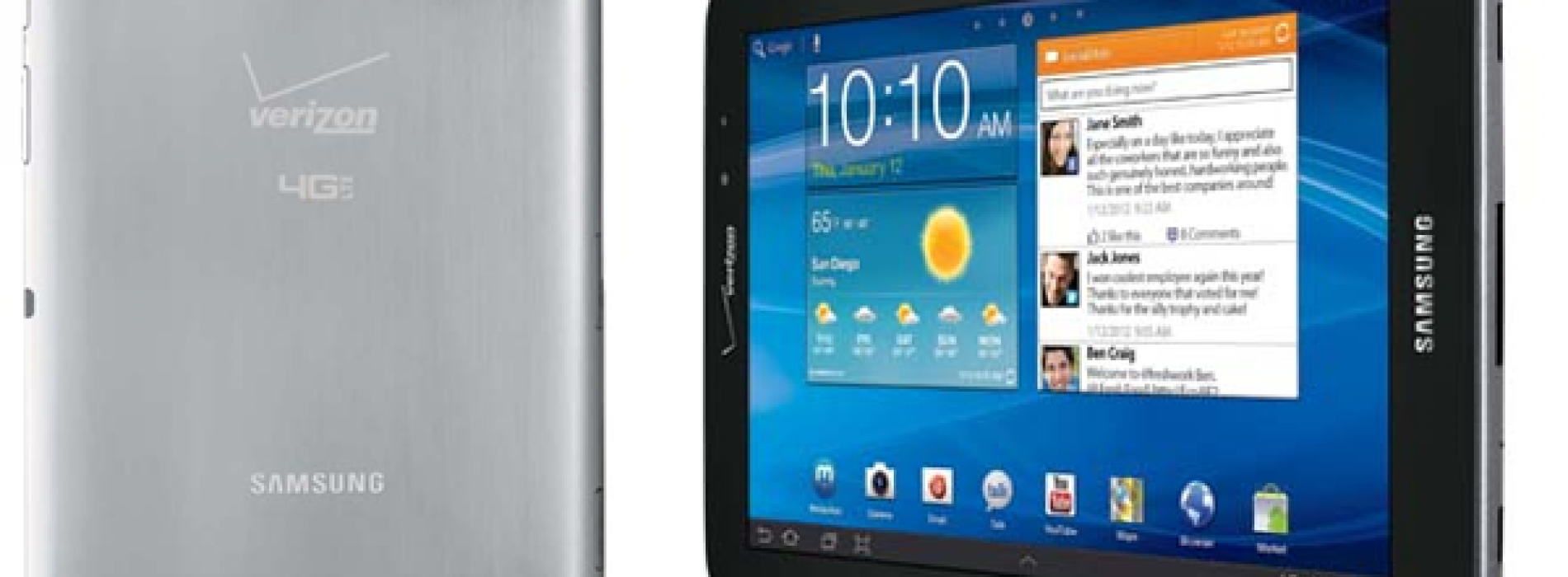 Verizon to offer Samsung Galaxy Tab 7.7 on March 1