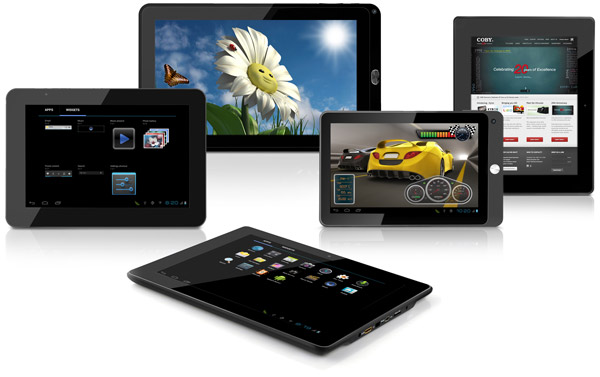 Coby tablets ICS