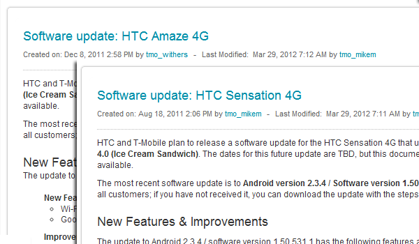 Amaze 4g Sensation4G Tmo Ics Feature