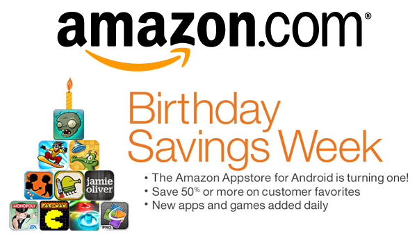 Amazon Birthday Appstore Feature