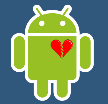 Android Logo Broken Heart1