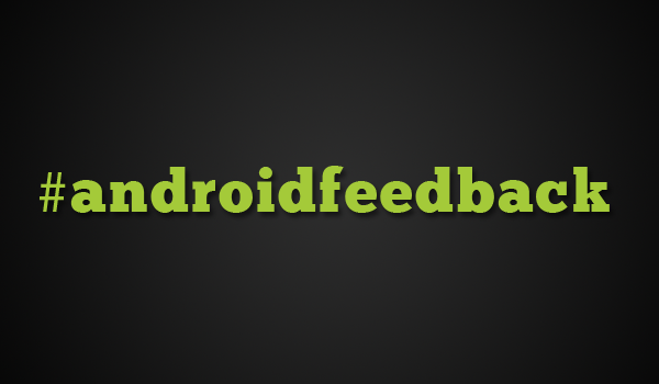 Androidfeedback Hashtag Feature