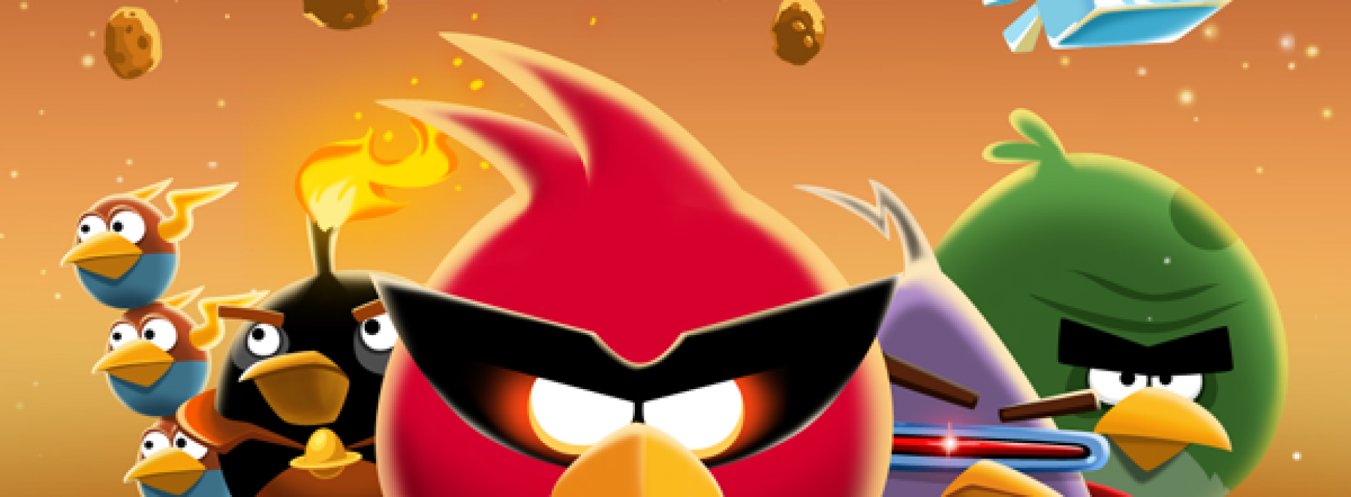 Samsung scores 30 exclusive 'Danger Zone' levels in Angry Birds Space