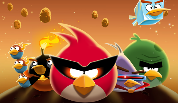 Angry Birds Space Team Feature