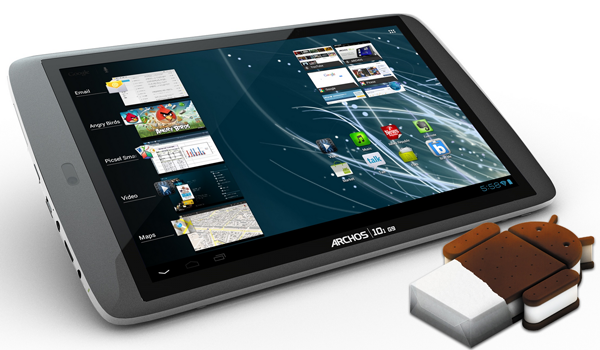 Archos G9 Ics Update Feature