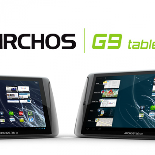 Archos 1.5GHz G9 Turbo tablets now shipping