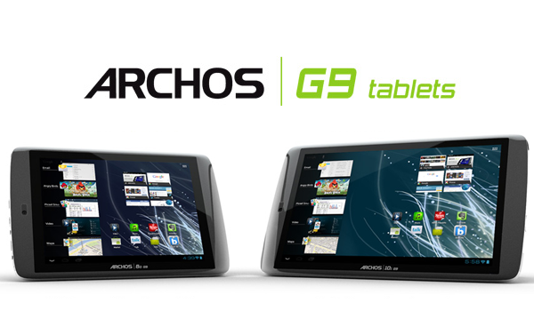 Archos G9 Tablets Feature