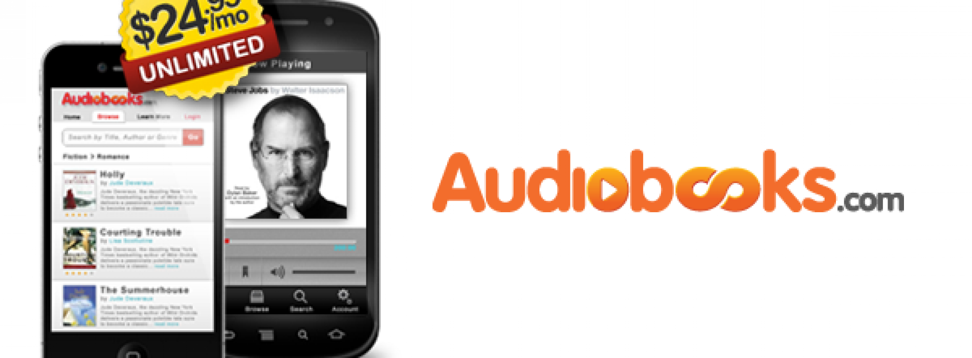 Video Review: Audiobooks.com for Android