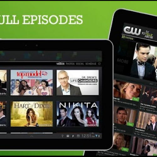 CW Mobile app provides free streaming of full episodes