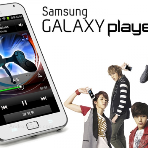 Samsung unveils dual-core Galaxy Player 70 Plus