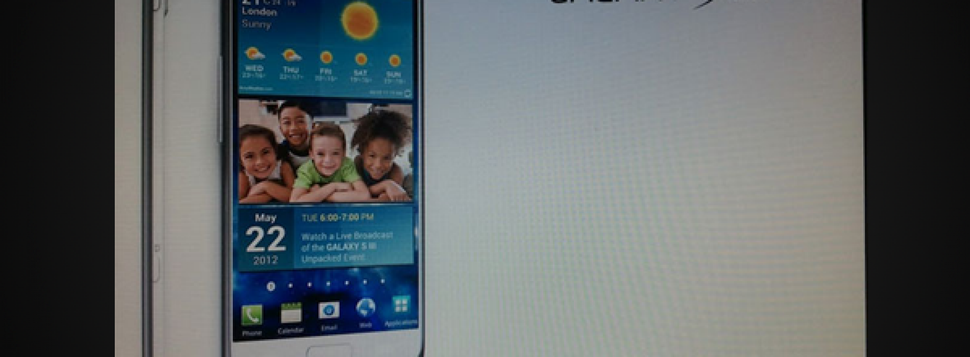 Latest leaked Galaxy S III render hints at May 22 launch