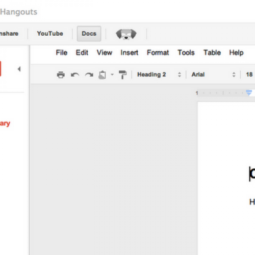 Google+ Hangouts gain Docs integration, business users rejoice
