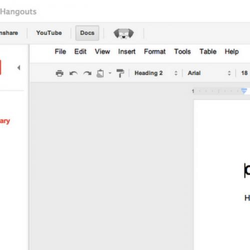 Google+ Hangouts gain Docs integration, business users rejoice