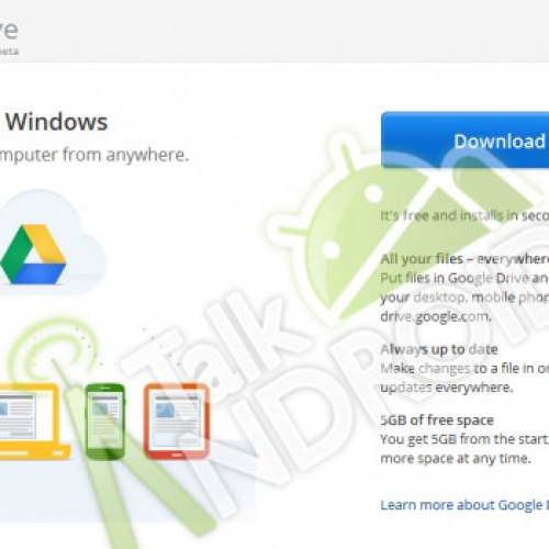 New Google Drive details surface