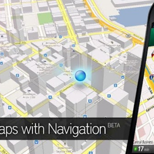 Google Maps 6.5 enhanced for Android 4.0, high-res displays