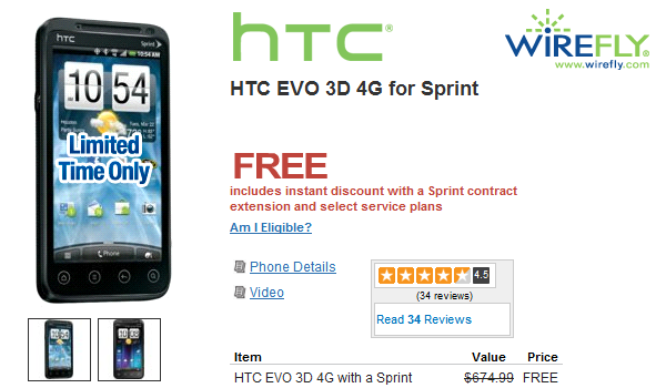 Htc Evo3d Wirefly Feature