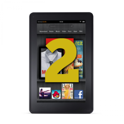 Kindle Fire 2 and another tablet due from Amazon in second half of 2012