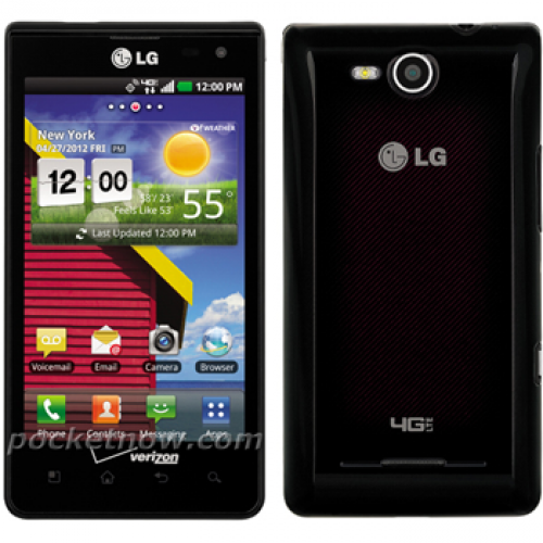 Full details for LG Lucid arrive online