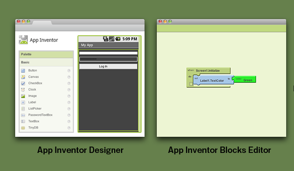 Mit App Inventor