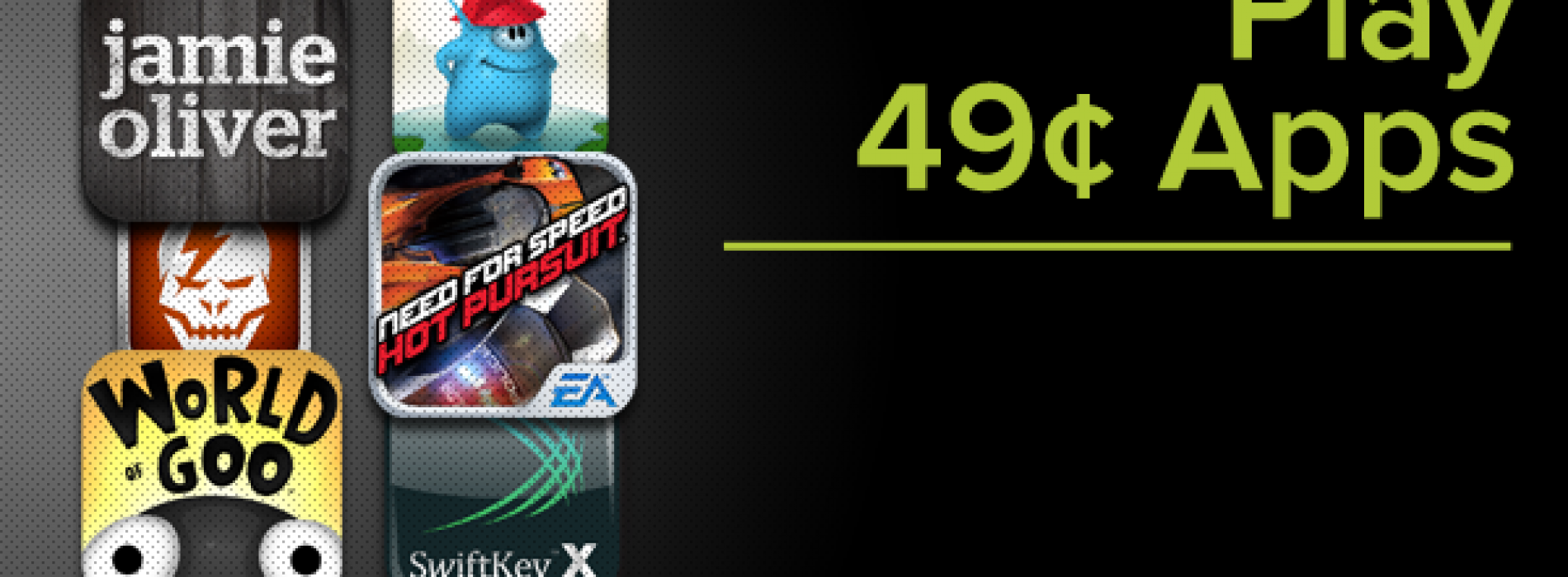 Google puts dozens of apps and games at 49¢ each for Google Play promo