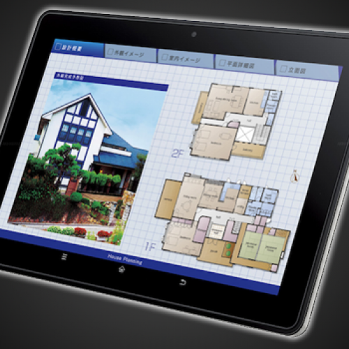 Sharp unveils Gingerbread-powered RW-T110 tablet