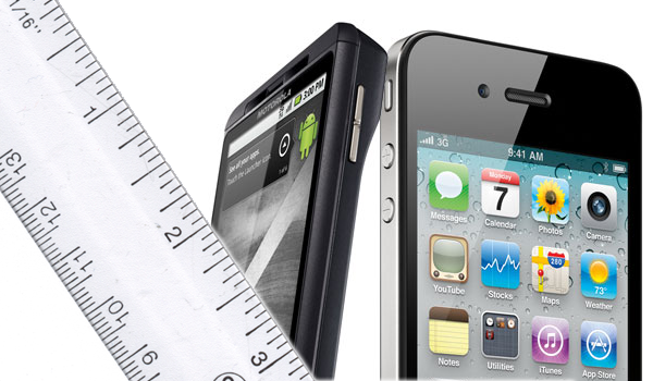 Size Ruler Droidx Iphone