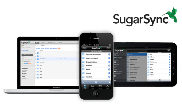 Sugar Sync Feature