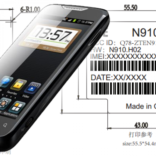 ZTE N910 passes through FCC en route to U.S. carrier