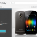 Galaxy Nexus Play Store