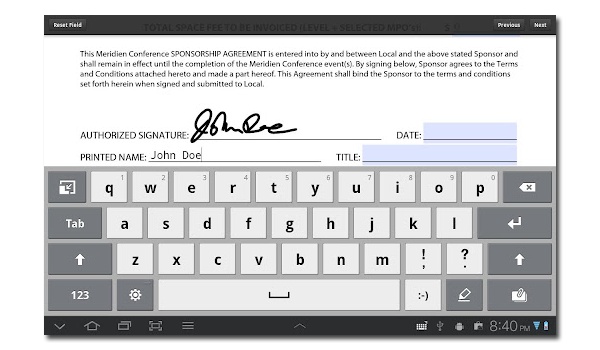 Adobe Esignature Reader Feature