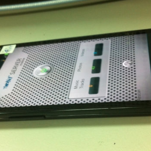 "Galaxy S ""dummybox"" prototype reveals custom navigation softkeys"