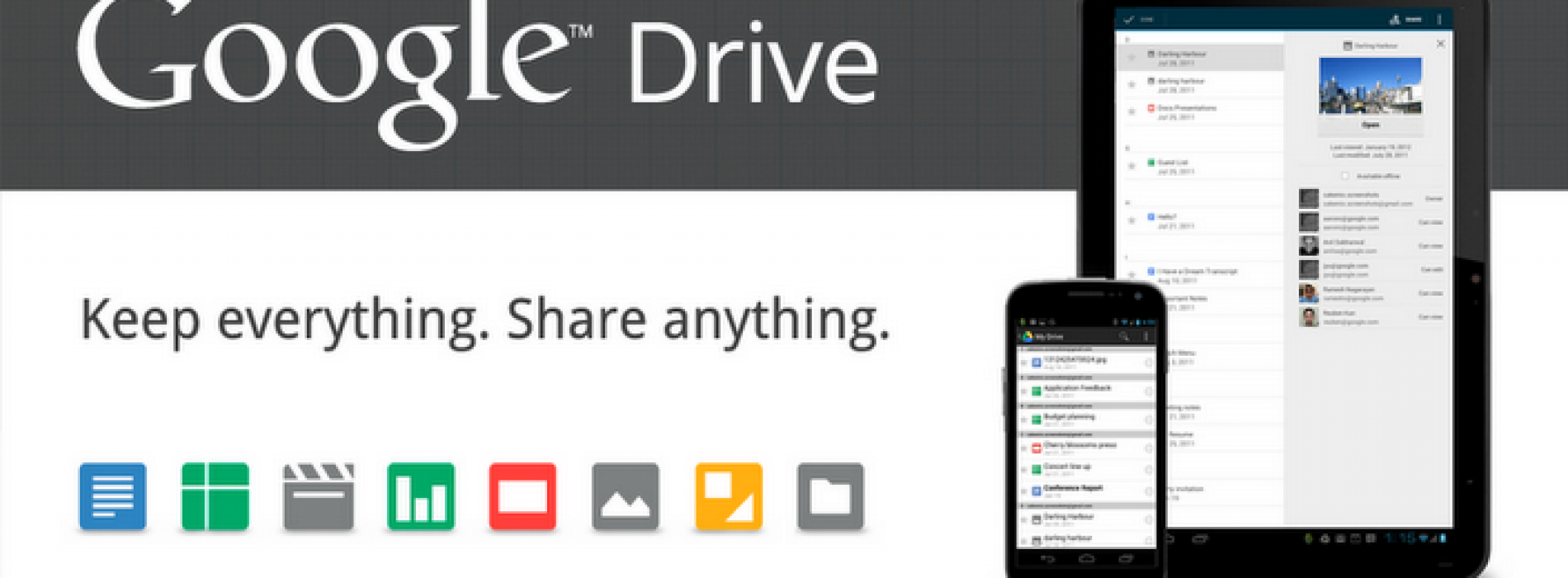 After years of rumors Google Drive becomes reality