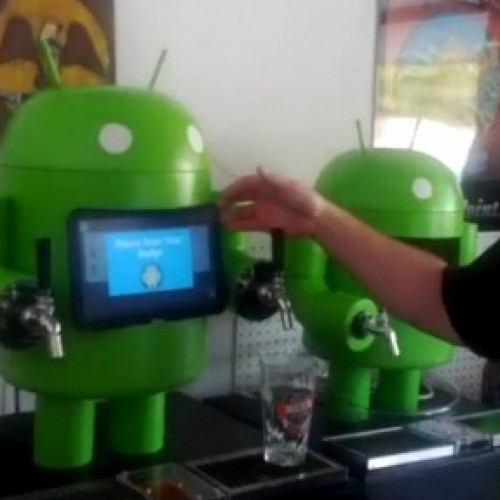 Free, as in beer: KegDroid uses NFC and Xoom tablet to dispense on-tap beer
