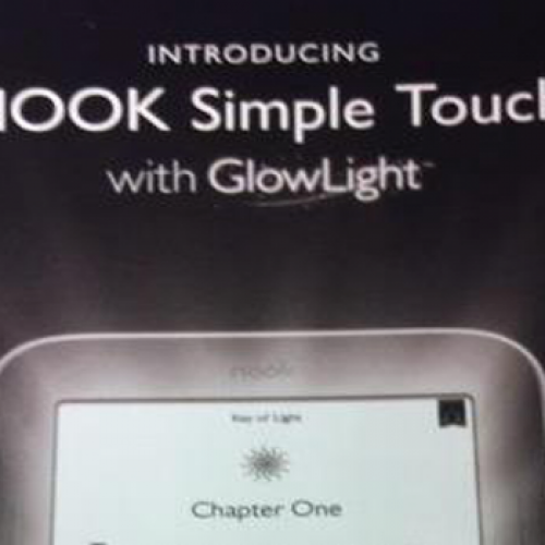 New Nook to include built-in front lit screen