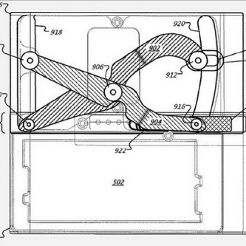 New patent reveals Google design for slide-out, QWERTY style phone