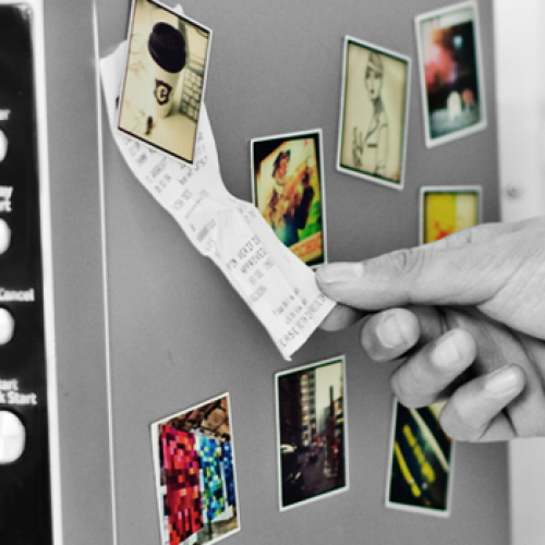 Stickygram: magnets made from your Instagram masterpieces