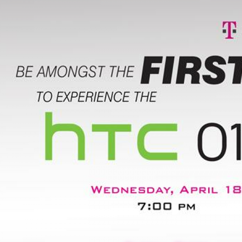 T-Mobile holding HTC One S event on April 18