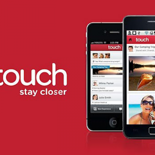 Touch app updated to include video and sound clip sharing