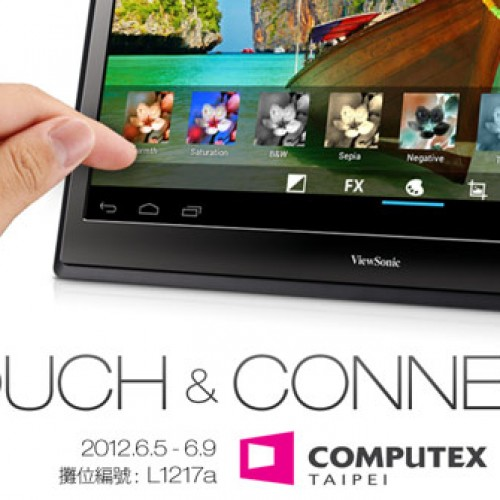 ViewSonic to introduce 22-inch tablet monitor at Computex