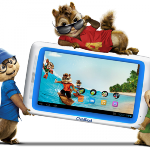 Child Pad: An Alvin & Chipmunks themed tablet good enough for most adults