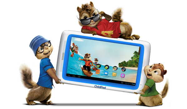 ARCHOS Chipmunks Child Pad Feature