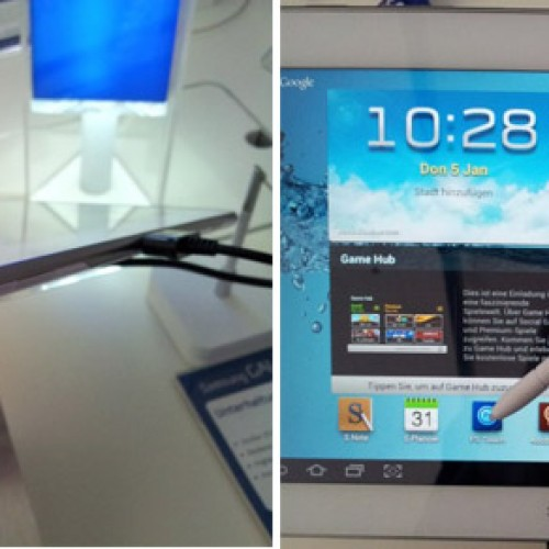 New Samsung Galaxy Note 10.1 build features faster processor and S-Pen holster slot
