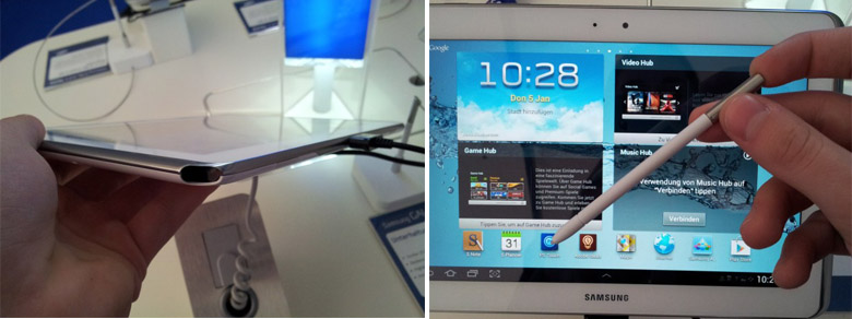 Samsung Galaxy Note 10.1 With S Pen