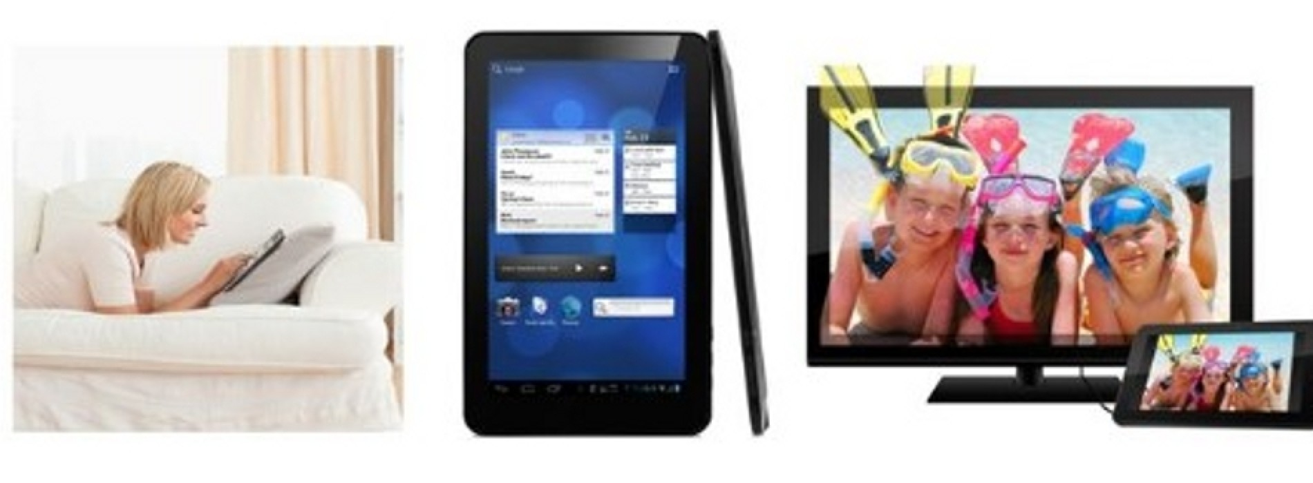 The Ematic eGlide XL Pro 2, an inexpensive Android v4.0 powered tablet now available