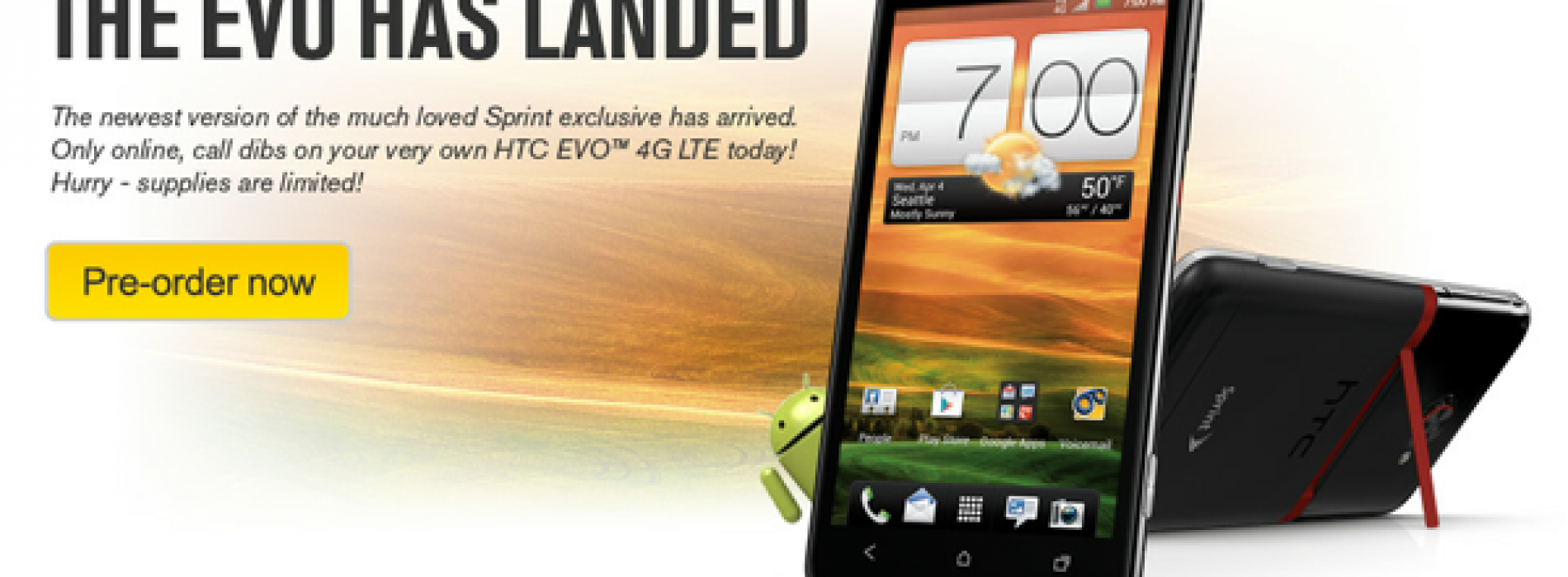 Select Sprint locations opening doors at 8AM for EVO 4G LTE