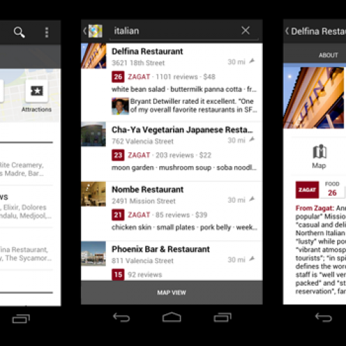 Google+ Local goes live with free Zagat integration