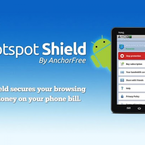 AnchorFree brings Hotspot Shield to Android