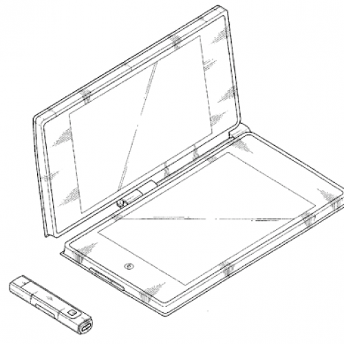 Samsung can't learn from Sony's mistakes, patents a dual-screen tablet