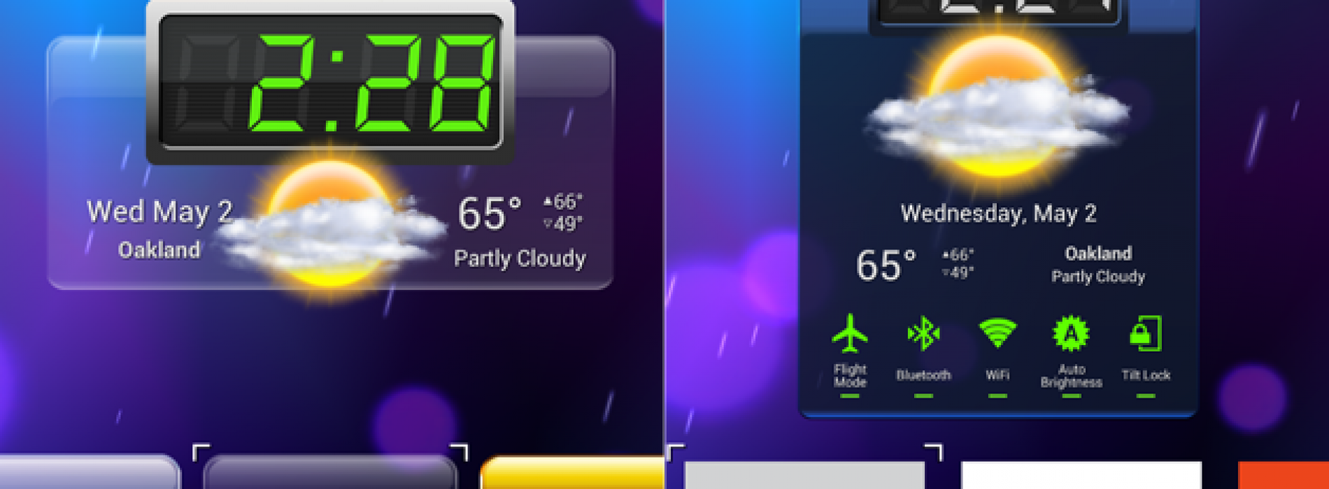 The Popular HD Widgets now has Editor's Choice status,Look inside for a Sneak Preview of v3.0