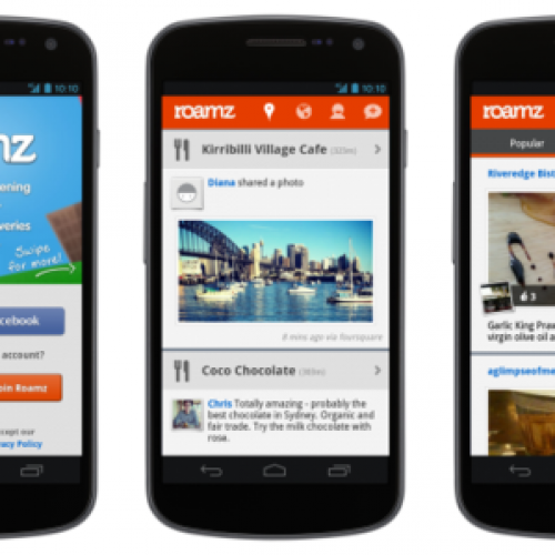 Roamz for Android, Out Now